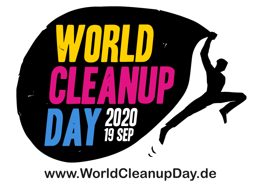 World Clean up day 2020 Logo